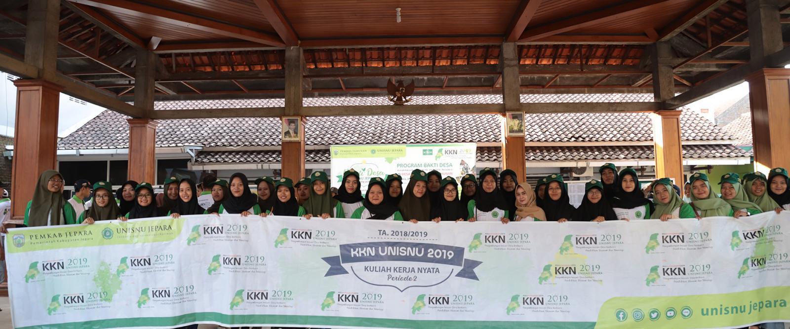 Bakti Desa KKN UNISNU Jepara Th. 2019 Periode 2